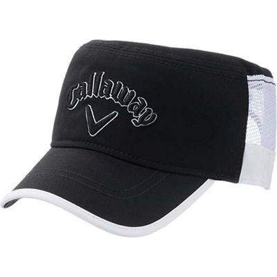 ◆即納◆キャロウェイ(Callaway) アメリカン メッシュ ワークキャップ  American Mesh Cap 15 JM BLK/WHT 【メンズ ゴルフ 帽子 15】の画像