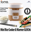 ★ Iona GLRC06 0.6L Mini Rice Cooker and Warmer ★ (1 Year Singapore Warranty)
