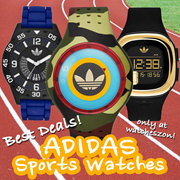 [Best Price Guarantee] Adidas Mens below $100 Watches Promotions [WatchesZon]
