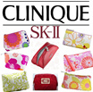 NEW DESIGNS ADDED!!SELLING BELOW COST!! BRANDED COSMETIC POUCH BUY 5 GET 1 FREE CLINIQUE ESTEE LANCOME