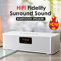 ◇Best ever in Qoo10 High-power Bluetooth speaker ultra-long wireless connection awesome sound quality perfect designCompatible