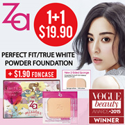 [Use Coupon Get More OFF!!]🌟(1+1ZA HOT SALE! 🌟TheBeautyQueen x ZA [Shiseido]2 Way Foundation