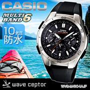 カシオ CASIO 腕時計 wave ceptor ウェーブセプター ウォッチ タフソーラー 電波時計 MULTIBAND 6 WVQ-M410-1AJF メンズ 【WVQ-M410-1AJF】