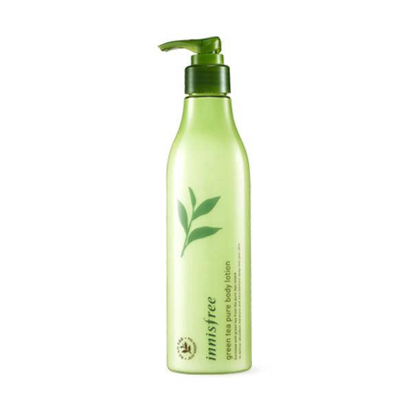 イニスプリー グリーンティー ピュア ボディー ローション 300ml ボディローションInnisfree green tea pure body lotion