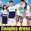 2017NEW sales/couple/summer wear/dress/T-shirt/suit /