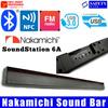 NAKAMICHI Sound Bar   Premium Quality   Bluetooth   NFC   USB   FM Radio   Truly Classic Piece  