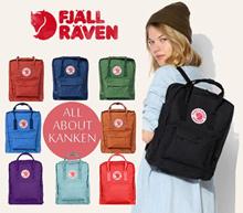 ★Authentic★ Fjallraven Kanken | Unisex Backpack | Vinylon Hardwearing Fabric | Opening Sales | Bag