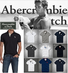 ★★ Free Shipping!!! ★New Arrive Abercrombie n Fitch Polo Muscle Fit Imported Genuine.