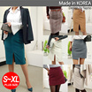 ★@@NEMO-SPECIAL SALE★2016 NEW ITEM NEMO-Skirts Hot trendy Women Fashion Skirts CNY Skirts CNY clothes Dress/Linen Pencil skirt/Office look/Made in our own factory in KOREA/