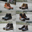 [PROMO LIMITED] SEPATU BOOTS FASHIONABLE HIGH QUALITY