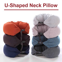 U-shape NECK PILLOW / TRAVEL NEEDS / MUJI INSPIRED IN FLIGHT PILLOW / TRAVEL ACCESSORIES / IN FLIGHT PILLOW / 100% FULL COTTON / READY STOCK SINGAPORE SELLER FAST DELIVERY!