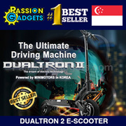 ★Local Seller★Authentic Dualtron2 DT II Limited DT2LD Minimotors Dual sonic 10inch Electric Scooter