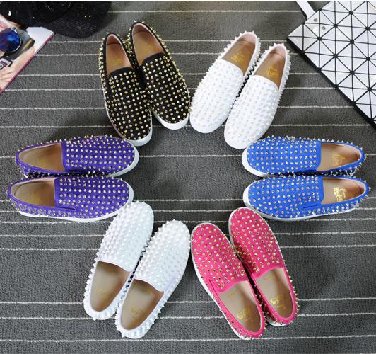 高品質 韓国Style スパイクスタッズ靴 パンプス サンダル スニーカー 結婚式靴 靴レディース スニーカーレディース  靴 ハイカットスニーカー 白スニーカー  厚底 スニー