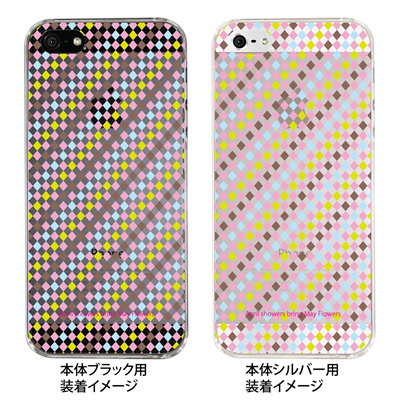 【iPhone5S】【iPhone5】【Clear Fashion】【iPhone5ケース】【カバー】【スマホケース】【クリアケース】【May Flowers】 ip5-09-mf0002の画像