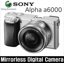 [Sony] Alpha A6000 + 16-50mm Lens Set / Shutter speed 1/4000 / ISO 25600 / 285g / Mirrorles