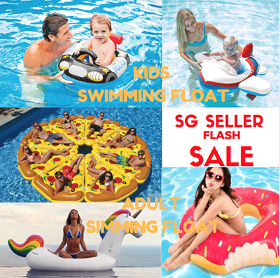 Qoo10 Sg Seller Xl Cute Swimming Pool Party Floats In Various Designs Sports Equipment