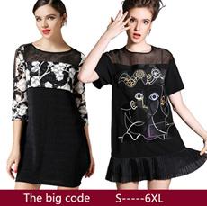 In summer 2015 the new European station womens casual dress code short sleeved shirtdress/S-6XL