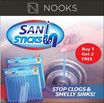 [CRAZY SALE]★Buy 1 Free 2★New Sani Sticks/Advance Drainage Cleaner/Deodorize