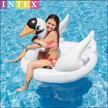 INTEX スワン型フロート 鳥 SNSで大人気! フラミンゴ プール・海・レジャーに最適 浮き輪 intex インテックス 浮き輪 大人 子供 大きい かわいい 浮輪 ビッグサイズ うきわ