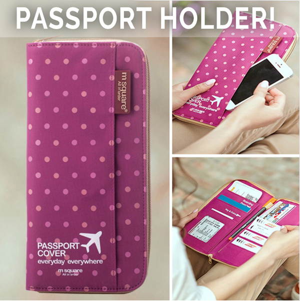 STYLE DEGREE? NEW PASSPORT WALLET HOLDER!? Korea Design Travel cover bags ladies men wallet sling bag money clip pouch shirt shoes travelling bags winter ...