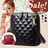 T116 2015 New Quilted Bucket Bag Messenger Shoulder Bag/ Womens Bag/ Handbag/ Sling Bag