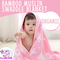 BLK1:Update 24/09/2017 Newborn /infant/blanket/Muslin/swaddle/bed sheet/baby/100% cotton/towel