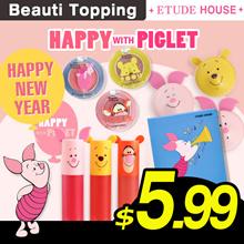 ★ETUDE HOUSE x Disney★Happy with Piglet/Eyeshadow/cheek/lips[Beauti Topping]