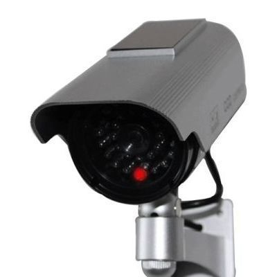ブロードウォッチ【LED点滅】太陽電池式ダミーカメラ屋外防水型SEC-CAM-NDLS