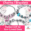Buy 1 Get 1 Free - Rose Gold Charm / Beads Bracelets | Perfect for Your Loved Ones | Charm Bracelet