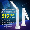 Portable Rechargeable Eye Protection LED Table Lamp / Foldable  Desk Light / Brightness Adjustable /
