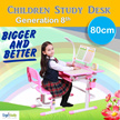 FREE 12 Months Warranty Children Ergonomics Study Table and Chair Newly Added Features Children Ergonomics Study Desk and Chair Set