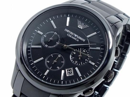 【クリックで詳細表示】EMPORIO ARMANI エンポリオ アルマーニ エンポリオ アルマーニ EMPORIO ARMANI クロノグラフ 腕時計 AR1452 ar1452 【直送品の為、代引き不可】