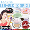 BREEZY ★  [LANEIGE] BB Cushion_Pore Control / Whitening / Skin Veil Base Cushion / Cushion+Refill
