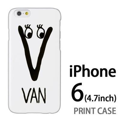 iPhone6 (4.7インチ) 用『0623 「V」』特殊印刷ケース【 iphone6 iphone アイフォン アイフォン6 au docomo softbank Apple ケース プリント カバー スマホケース スマホカバー 】の画像