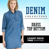[17 AUG NEW] Denim Dress. Tops. Bottoms Collections (Free Shipping)
