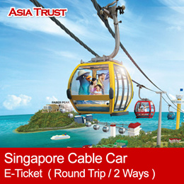Singapore Cable Car Sky Network  - Round Trip / 2Ways / Eticket / Sentosa 圣淘沙缆车 往返