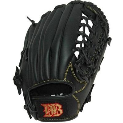 BeActive(ビーアクティブ)ジュニア用軟式野球グラブブラック【野球少年軟式用グローブオールラウンド】