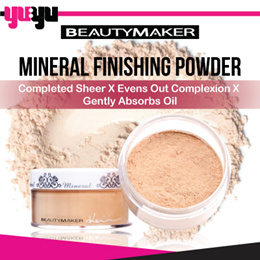 [BEAUTYMAKER]✮Mineral Finishing Powder 零負擔礦物蜜粉底✮Completed Sheer✮Absorbs Oil✮Evens out Complexion