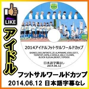 【韓流DVD◆K-POP DVD】 アイドルフットサルワールドカップ [2014.06.12] / EXO SHINEE INFINITE VIXX GOT7 TEENTOP BEAST B1A4の画像