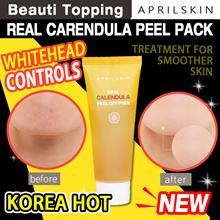 [APRILSKIN] April Skin Real Calendula Peel Off Pack Strong Sebum Absorption And