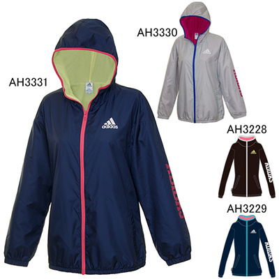 アディダス (adidas) レディース Team ウインドブレーカー ジャケット BBS97 [分類:ウインドブレーカー 上 (レディース)] 送料無料の画像