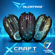 Online Promo till 21st Oct! Alcatroz X-Craft Series 3200 CPI Optical Sensor. 6 Buttons Programmable Gaming Mouse. Rubberized Finishing Enhance Grip and Comfort. 24 Months Local Warranty.