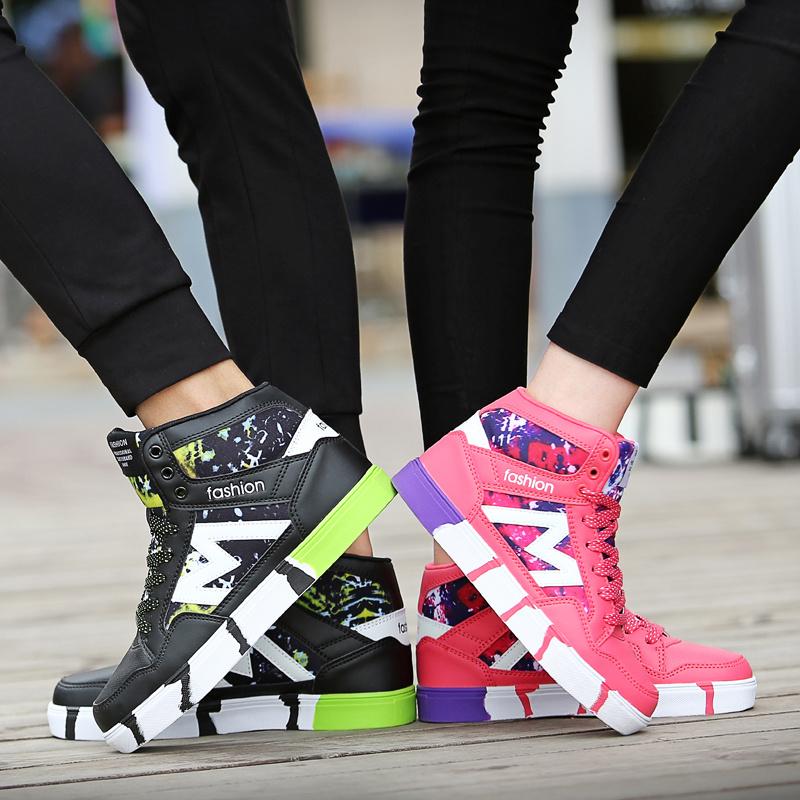 新品スニーカー メンズスニーカー 男女共用 韓国Style 大人気 高品質スニーカー スポーツシューズ ファッション 靴レディース スニーカーレディース  靴 ハイカットスニーカ
