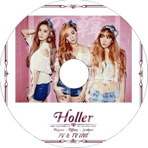 少女時代 TTS 2014 Holler PV & TV Show Live DVD ◆K-POP DVD◆ Whisper Only You Adrenaline GirlsGeneration-TTS テヨン ソヒョン テティソの画像