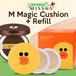 Missha Line Friends M Magic Cushion/Moisture Package Spf50 (Produk+Refill (1pcs)+puff (1pcs))