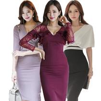 2018spring style series / new listing / date / Dress / dinner / evening dress