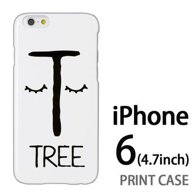 iPhone6 (4.7インチ) 用『0623 「T」』特殊印刷ケース【 iphone6 iphone アイフォン アイフォン6 au docomo softbank Apple ケース プリント カバー スマホケース スマホカバー 】の画像