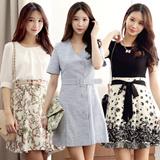 [Chicline] 2015 Korean dress  [UP TO 65% OFF - women fashion women clothing Korean Formal Dress Collection] 2015 Customer Satisfaction Best Item
