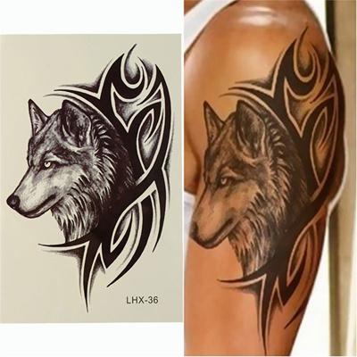Значение тату в виде волка