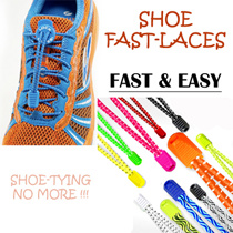 **SG FREE SHIPPING** Sports Laces / Lock Laces / Quick and Easy / No More Shoe Tying / Easy for Children / Crossfit / Marathon / Triathlon / Gym / Fitness